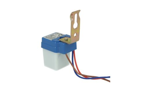 Sensore Crepuscolare Photo Cell Sensor 220V 6A IP44 Interno Esterno