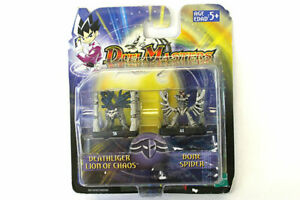 Hasbro-Duel-Masters-Mini-Action-Figures-Deathliger-Lion-of-Chaos-And-Bone-Spider
