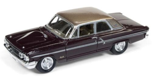 1//64 JOHNNY LIGHTNING 1964 Ford Thunderbolt in Vintage Burgundy w// Gold Roo