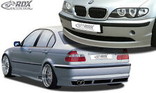 RDX Bodykit BMW E46 Limousine Facelift Spoiler-Set Front Heck Seitenschweller