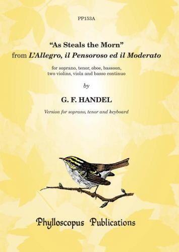 As Steals the Morn - Grade: 6 PP153A Piano score VOICE /& PIANO