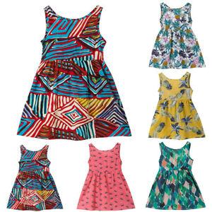 Summer-Toddler-Baby-Girls-Dress-Printed-Sleeveless-Princess-Strap-Dress-Sundress