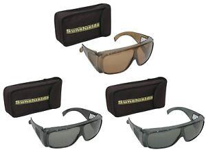 SUNSHIELDS Atlantis Moulded Plastic Driving Sunglasses Tinted Polarised Lens