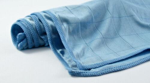 10x Microfiber Cloth Poly Pro 50x60cm Rezi Kitchen Cleaning Polishing Cloth