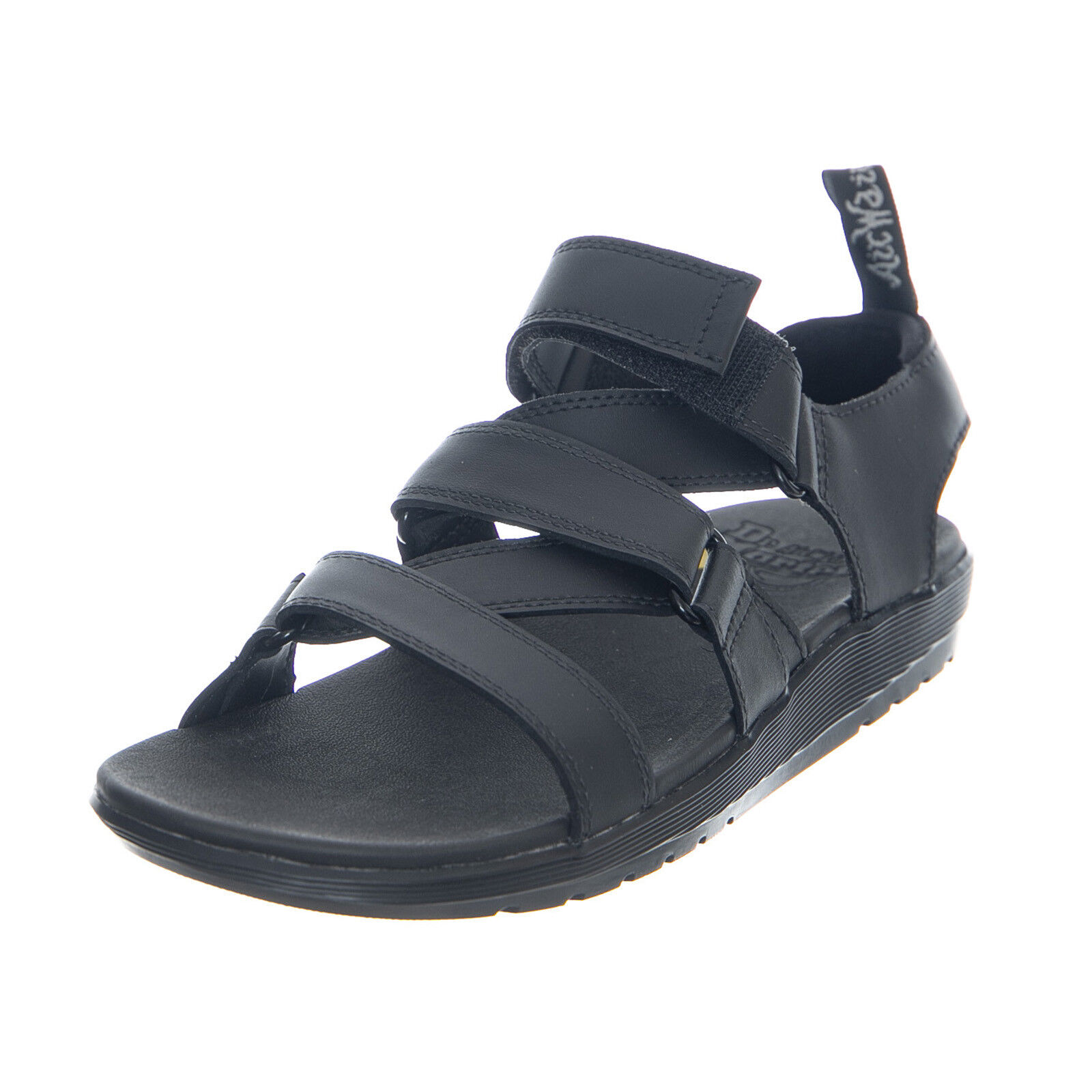 Dr.Martens At Redfin Black Hydro Leather - Women's Sandals Black