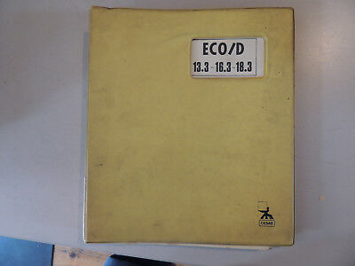 Stapler Cesab Eco/d 13.3 16.3 18.3 Catalogo Parti Di Ricambio Uso Manutenzione
