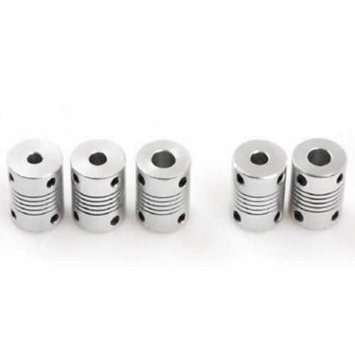 8mm Flexible Eje Acople Rígida para CNC Motor Conector Acoplador Cn /_ 5//6//6.35