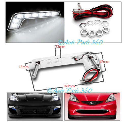11-14 DODGE CHARGER LED STRIP PROJECTOR HEADLIGHT LAMP BLACK W//DRL SIGNAL 12 13