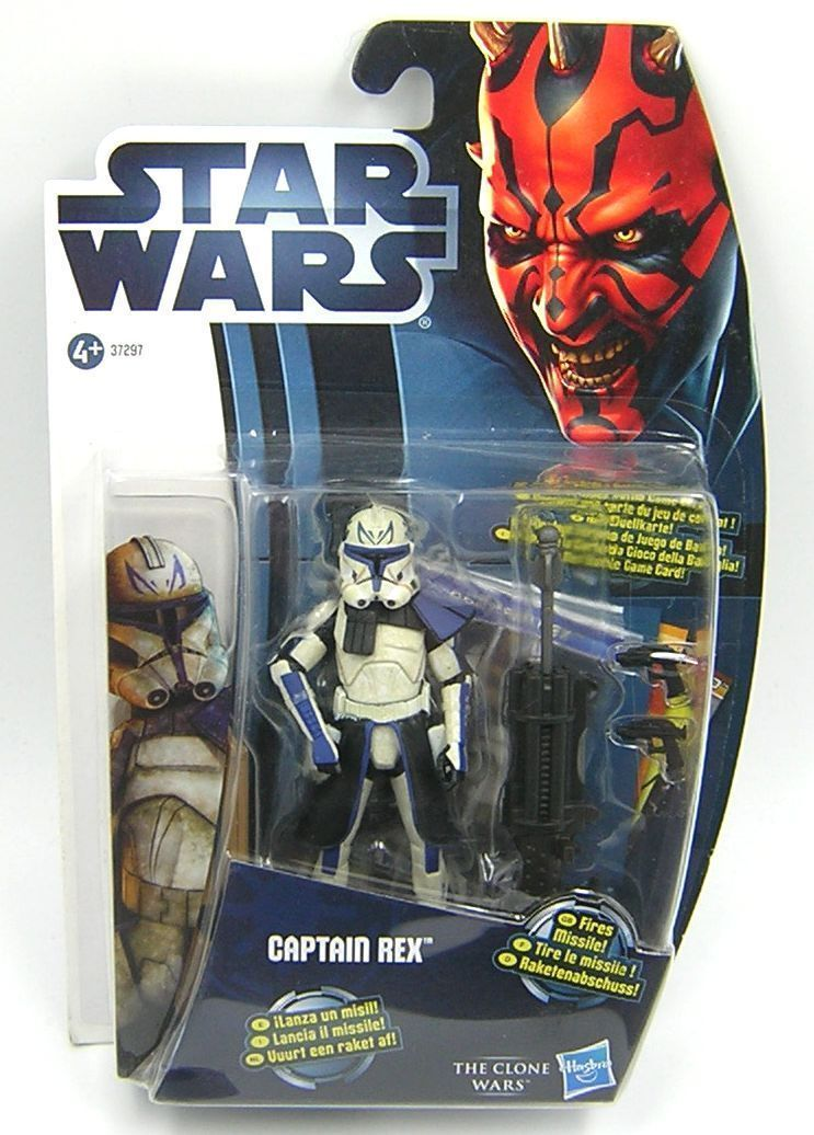 Star Wars Clone Wars CW13 Captain Rex Phase II Armor Movie Heroes Import