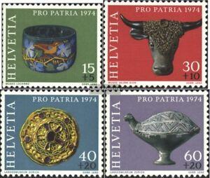 Schweiz-1031-1034-kompl-Ausgabe-postfrisch-1974-Pro-Patria