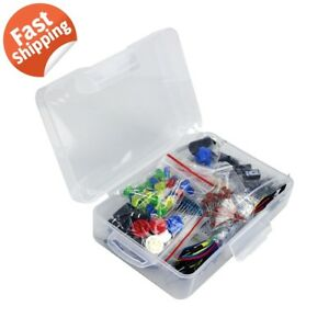 Arduino-Starter-Kit-Resistor-LED-Capacitor-Breadboard-Resistor-Buzzer