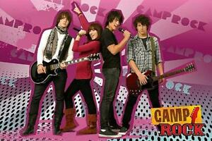 Camp-Rock-Group-Maxi-Poster-61cm-x-91-5cm-new-and-sealed