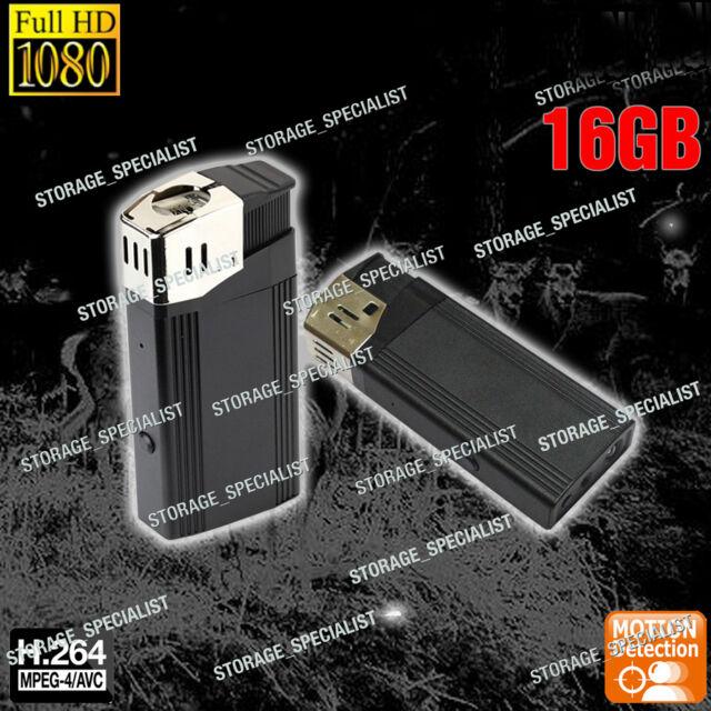 Mini Security Camera Lighter Home Micro Backup Recorder 1080P no Spy Hidden
