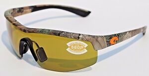 65a4b0325c2 Image is loading COSTA-DEL-MAR-Straits-POLARIZED-Sunglasses-Realtree-Xtra-