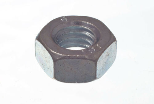 10 X M6 HEX NUT STEEL HEXAGON HEAD