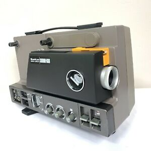 Vintage-Sankyo-Super-8-Single-8-Magnetic-Sound-600-Projector-AS-IS-for-parts
