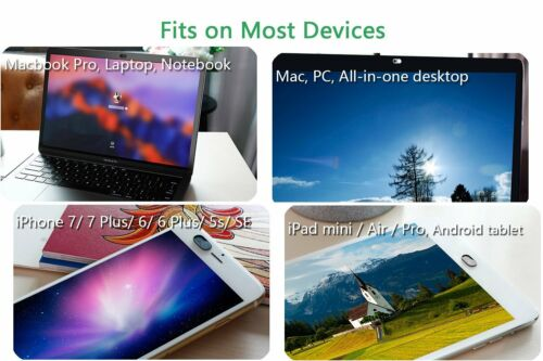 """6PACK Webcam Cover 0.026"""" Ultra-Thin Web Camera Cover for Laptops Macbook Pro"""