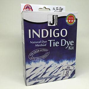 Jacquard-Indigo-Tie-Dye-Kit-Dyes-upto-15-Shirts-Craft-Denim-Gift-Party