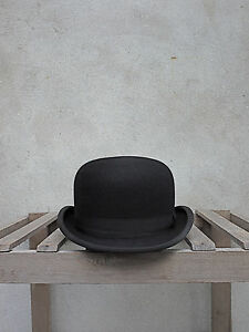 a201569edc1216 Black Bowler Hat by Christys' of London – 100% Fur Felt. Traditional ...