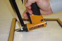 Picture Frame Fitting Air Stapler, & 1box Staples, Picture Frame Stapler