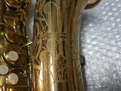 1942 Conn Alt / Alto Sax / Saxophone - Lady Face - Made In Usa PüNktliches Timing