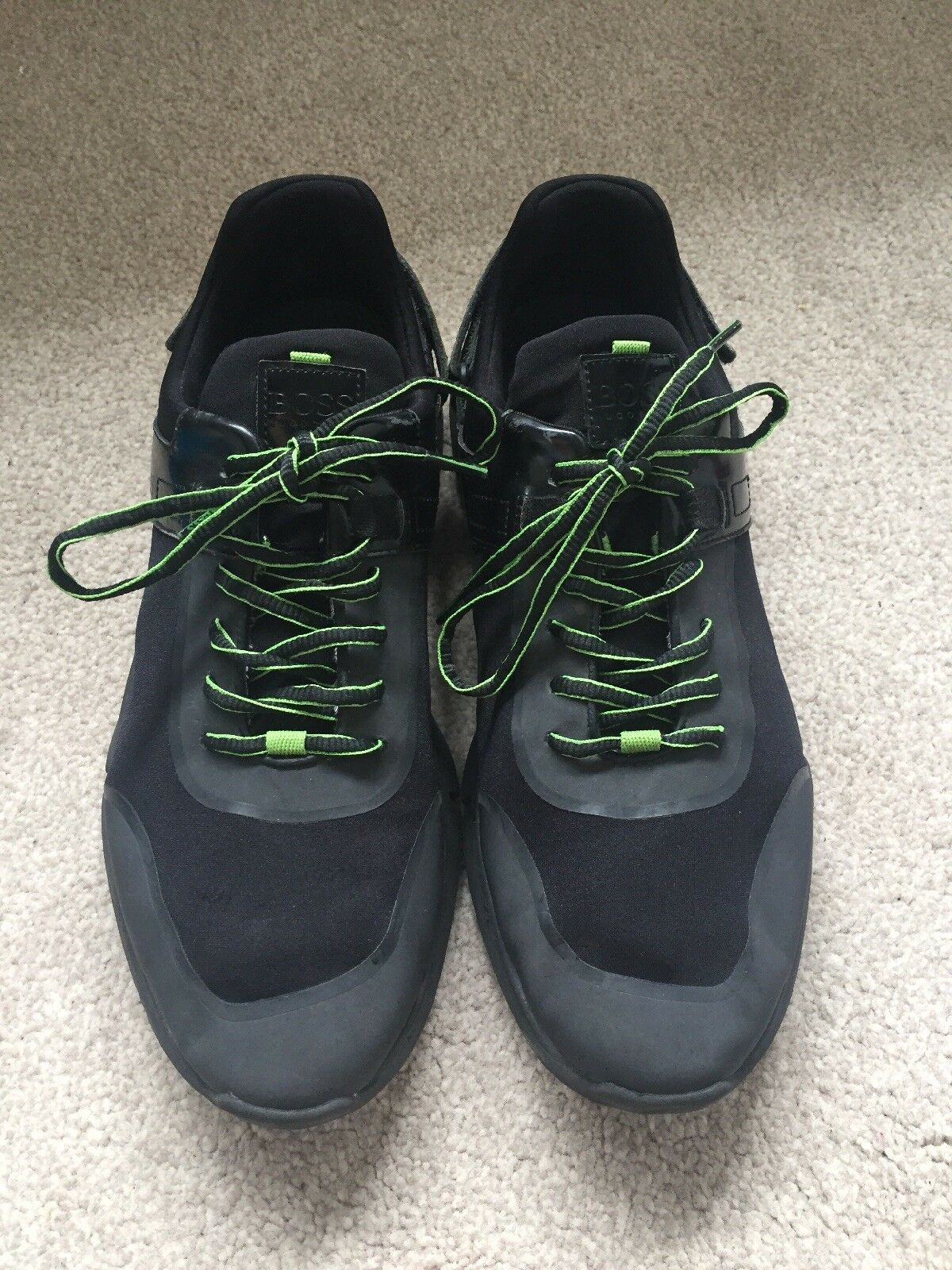 829e0fd677dc Hugo Boss Trainers. Size Green. Good Condition. 8. Lime nntfut2776 ...
