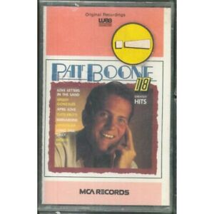 Pat-Boone-MC7-18-Greatest-Hits-Warner-Bros-25-5948-4-Sealed