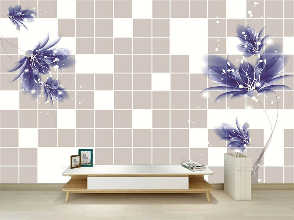 Modern Pulpy Light 3D Full Wall Mural Photo Wallpaper Printing Home Kids Decor
