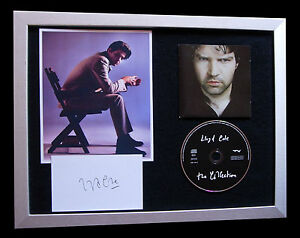 LLOYD-COLE-SIGNED-FRAMED-RATTLESNAKES-PIECES-100-AUTHENTIC-EXPRESS-GLOBAL-SHIP