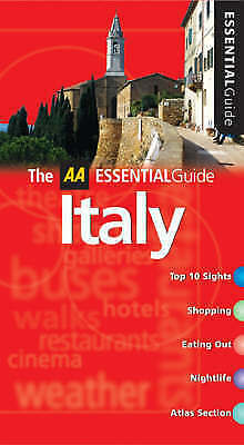 AA Essential Italy (AA Essential Guide), Shaw, Jane, Very Good Book