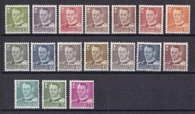 Dänemark Postfrisch Jahrgang 1948 Siehe Bild