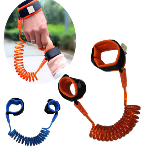 US Baby Child Anti Lost Safety Wrist Link Adjustable Toddler Harness Leash Strap