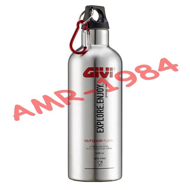 Botella Térmico Givi Stf500s Acero Inoxidable para Bebidas 500ml Per Outback