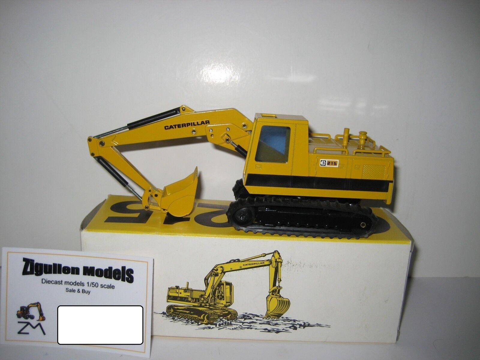 Caterpillar 215 Excavator Deep Spoon  Pachomme Logo  190.5 NZG 1 50 OVP  les magasins de détail