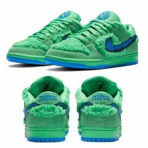 Nike x Grateful Dead baskets SB Dunk Low Green
