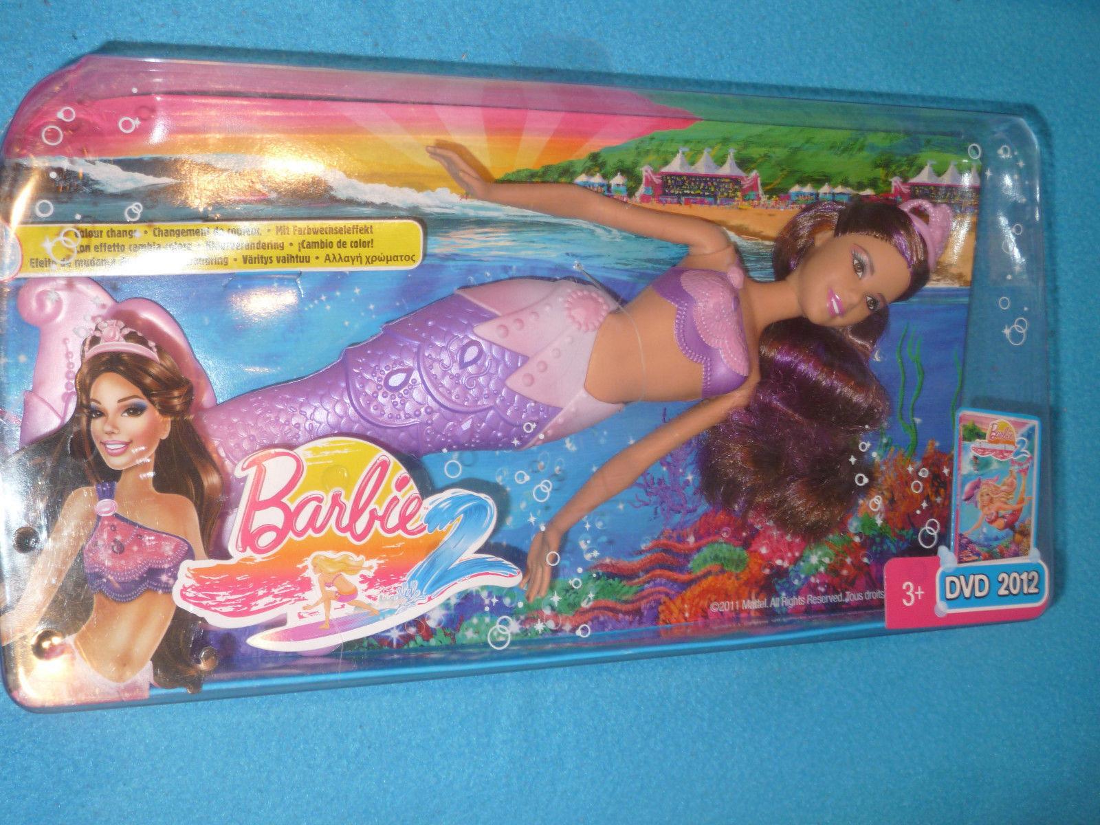 Barbie  - Das geheimnis von Oceana 2 - Brünette Meerjungfrau  - OVP -  NEU - TOP