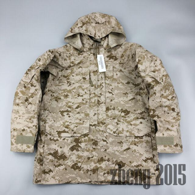 US Navy NWU Type II Working Uniform Wet//Cold Weather Waterproof Parka Jacket