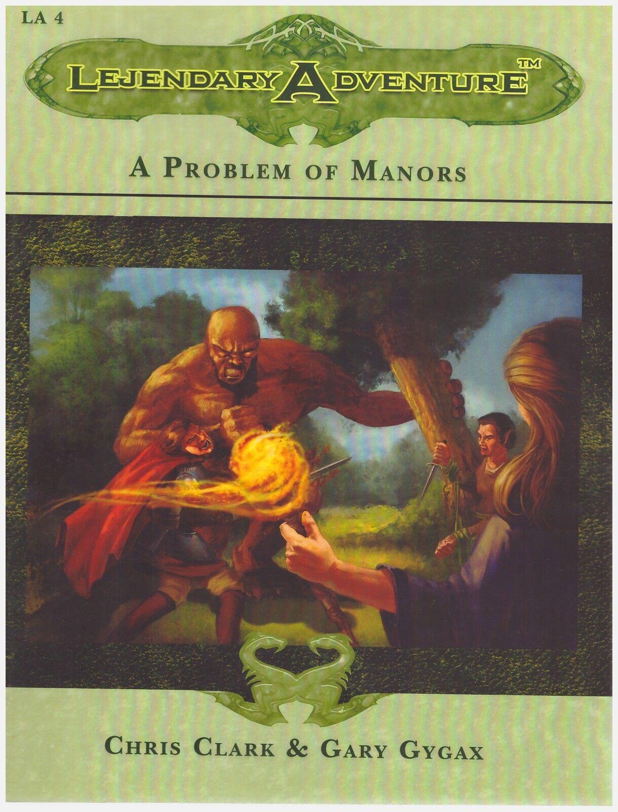 Chris Clark & Gary Gygax: Lejendary Adventure - A Problem of Manors