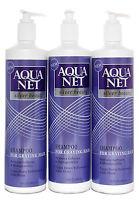 Aqua Net Silver Beauty Shampoo For Graying Hair 13 Oz. Lot Of 3