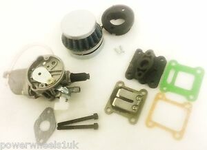 SPARE-PARTS-FOR-MINI-MOT-DIRT-QUAD-BIKE-AIR-FILTER-CARB-INLET-MANIFOLD-GASKET