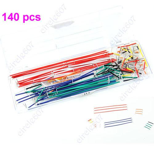 Breadboard 140x  U Shape Solderless  Jumper Cable Wire Kit For Arduino Shield