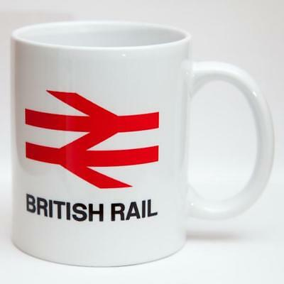 Funny Mug Coaster Gift. British Rail Limited Patience Sign