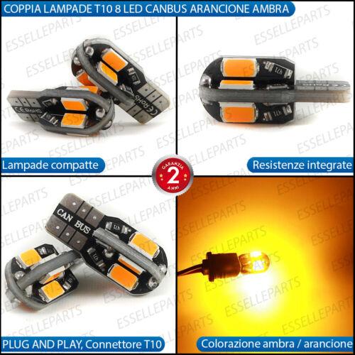 COPPIA LAMPADE FRECCE LED LATERALI SUZUKI JIMNY T10 CANBUS NO ERRORE