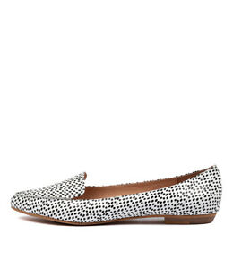 New-Mollini-Gyro-Black-amp-White-Spo-Womens-Shoes-Casual-Shoes-Flat