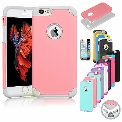 For Apple iPhone 6 / 6s 6 Plus TPU Rubber Gel Ultra Thin Protect Hard Case Cover