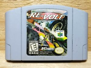 Re-Volt Nintendo 64 Video Game Cart Only N64 Authentic Tested Racing Acclaim