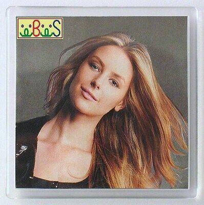 2x Blank Sq Clear Acrylic Coasters 90x90mm Photo & 100x100mm Frame Size G1521