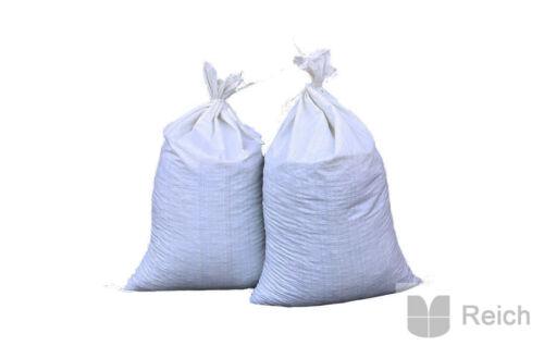 250 Stück PP-Bändchengewebe Getreidesäcke Säcke 25 Kg fassend 50 x 80 cm  Neu!