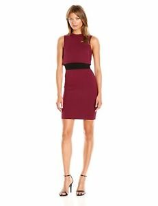e94d49c0b95 Image is loading French-Connection-Women-039-s-Lula-Stretch-Dress