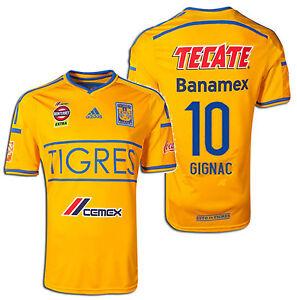 Adidas Tigres Uanl Andre-Pierre Gignac Domicile Jersey 2014/15